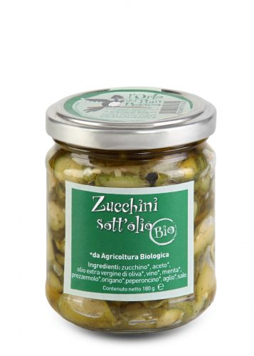 Zucchini sott'olio
